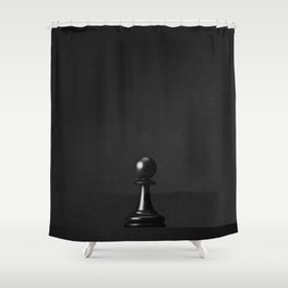 GAME OF THE THRONE / The Black Pawn Shower Curtain