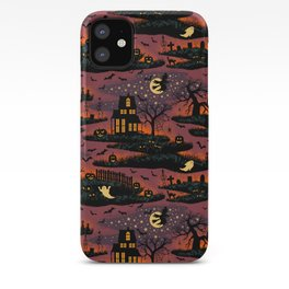 Halloween Night - Bonfire Glow iPhone Case