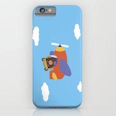 Bear in Airplane iPhone 6s Slim Case