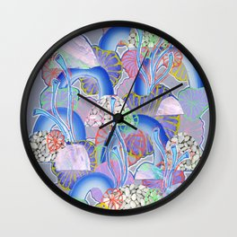Alien Organism 10 Wall Clock