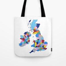 England, Ireland, Scotland & Wales Tote Bag