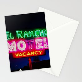 El Rancho Motel ... Stationery Cards