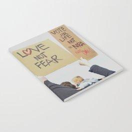 Love Not Fear Notebook