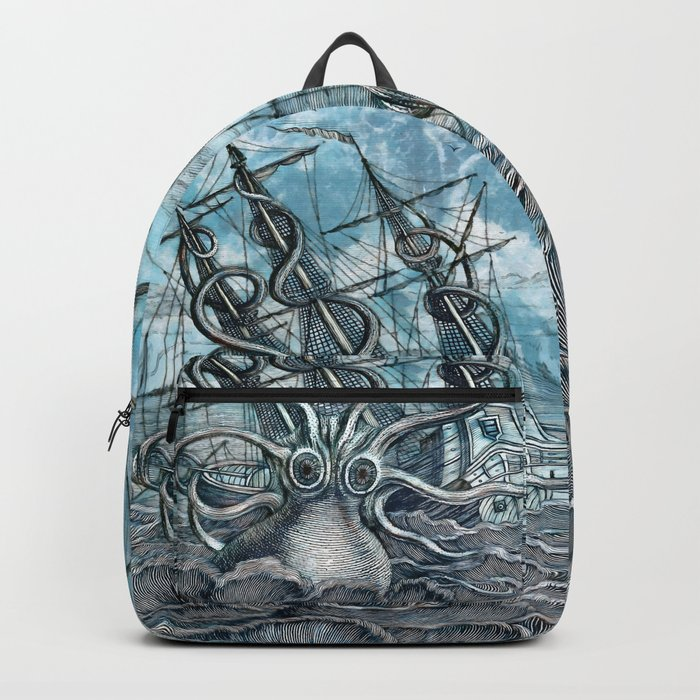 Sea Monster Backpack