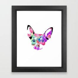 Joaquin the Chihuahua  Framed Art Print