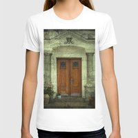 portal T-shirts featuring Portal by freedom-of-art