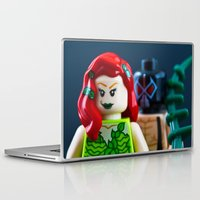 poison ivy Laptop & iPad Skins featuring Poison by InkBlot