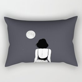 Am a moon like Rectangular Pillow