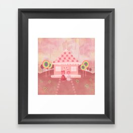 Candy Fields (Hansel & Gretel) Framed Art Print