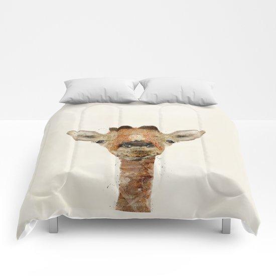 little giraffe Comforters