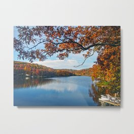 Autumn at Lake Killarney Metal Print
