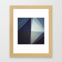 Kwadrat i trójkąty Framed Art Print