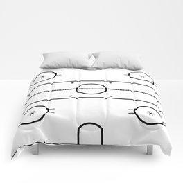 Ice Hockey Rink Comforters