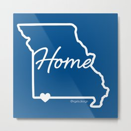 Missouri Home Love Metal Print