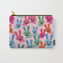 Cute Fluffy Bunnies Carry-All Pouch