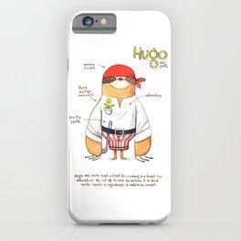 Hugo the Sloth iPhone Case