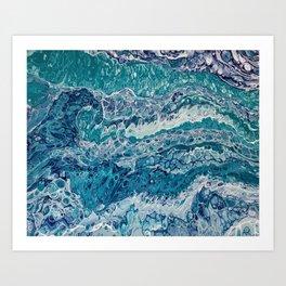 Bermuda Blues Art Print