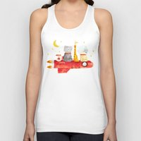 bruno mars Tank Tops featuring Let's All Go To Mars by Picomodi