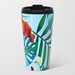 tropical pattern Travel Mug
