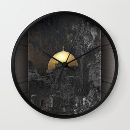 Dome of the Rock Wall Clock