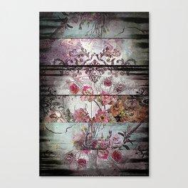 Zebra Rococo Canvas Print