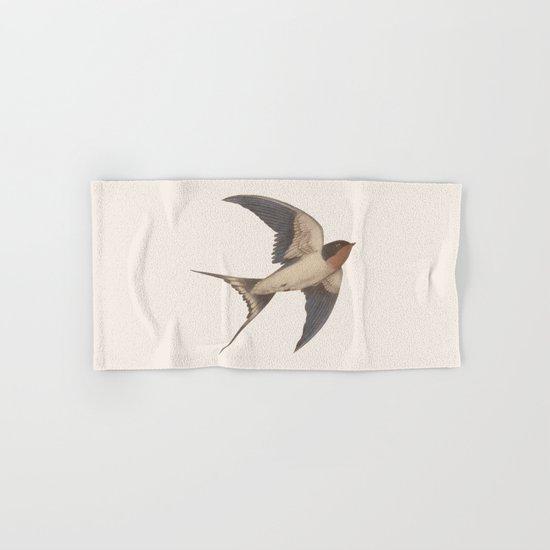 Barn Swallow Hand & Bath Towel