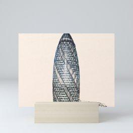 ArtWork Swiss Re London UK Painting Mini Art Print