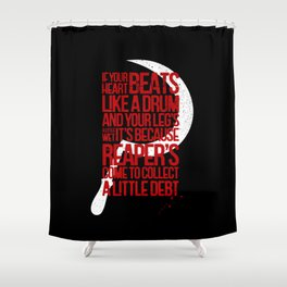 Reaper of Mars Shower Curtain