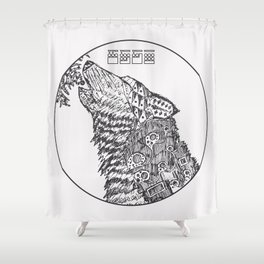 The Howling - Dark Variant Shower Curtain