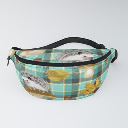 Hedgehogs Fanny Pack