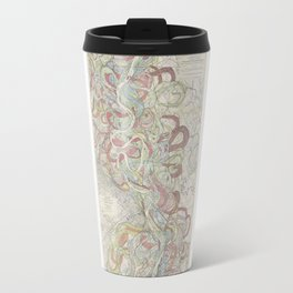 Beautiful Map of the Lower Mississippi River Travel Mug