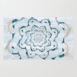 Dance of the dolphins Rug