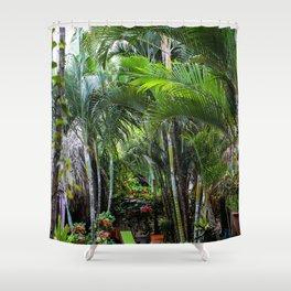 Dreamy Jungle Garden Shower Curtain