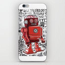 Robot Flux iPhone Skin