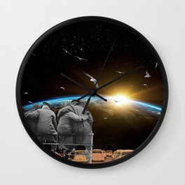 The View From Here Wall Clock