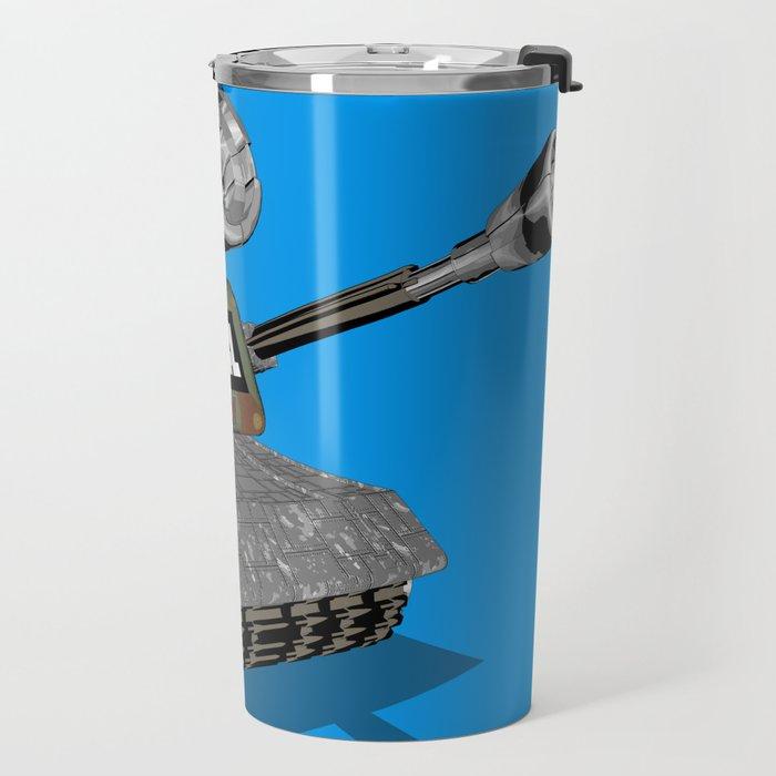 Tank 3D toon Travel Mug