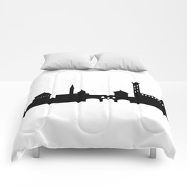 Florence cityscape Comforters