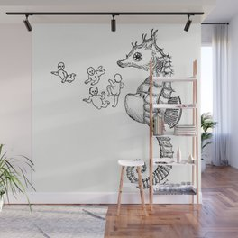 Sea horse Wall Mural