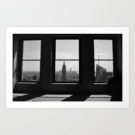 NY Window Art Print