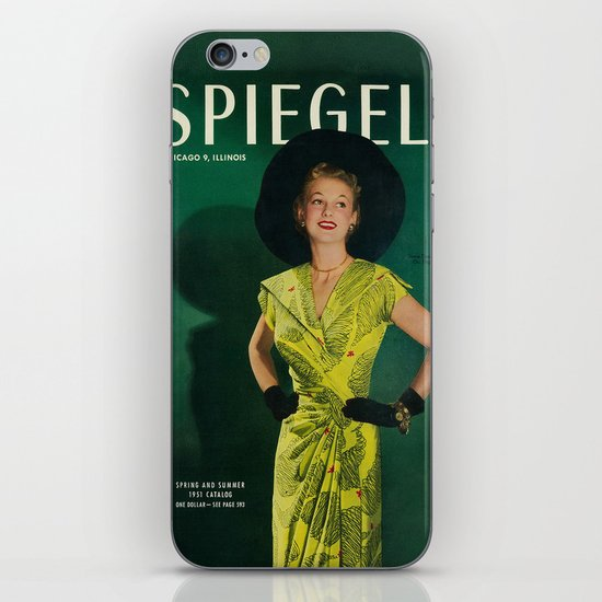 1951 Spring/Summer Catalog Cover iPhone & iPod Skin