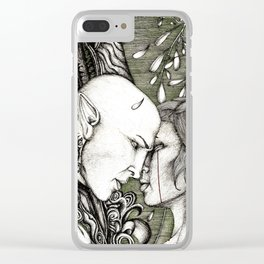 Dread Wolf's lover Clear iPhone Case