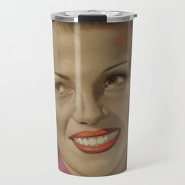 Rita Hayworth Travel Mug