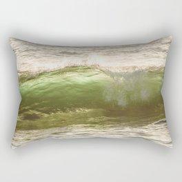 Green light water surf Rectangular Pillow