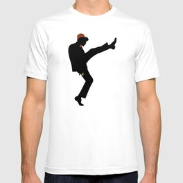 The 11th Doctor of Silly Walks T-shirt