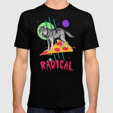 So Radical LARGE Mens Fitted Tee Black