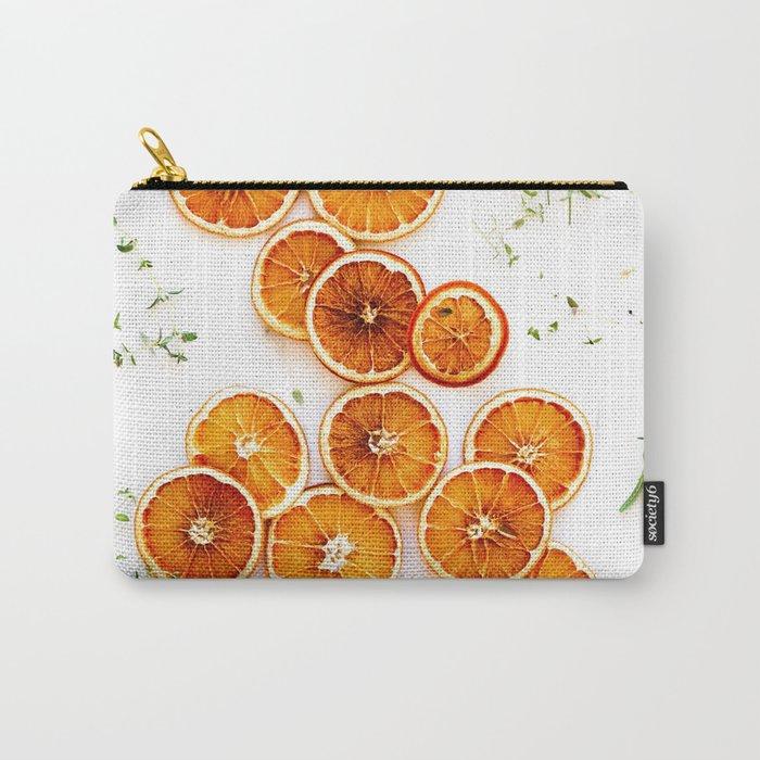 Pure Citrus (Color) Carry-All Pouch