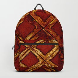 Ischia - Faux Royal Backpack