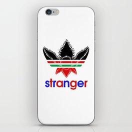 stranger@adidas iPhone Skin