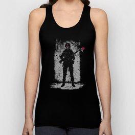 Soldier &  Rose Unisex Tank Top