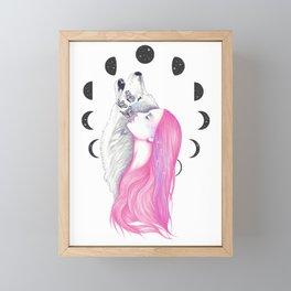 Moon Daze Framed Mini Art Print